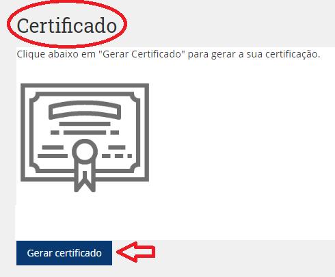 gerar certificado
